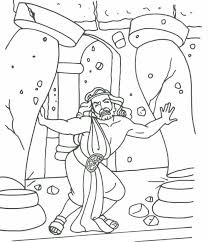 samson free coloring pages