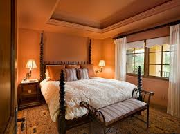 Sophisticated Bedroom Designs With Addition Of Orange Color - Sophisticated bedroom designs