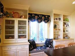 traditional kitchen window treatment ideas kitchen window
