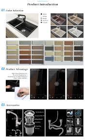 13mm thickness granite natural stone australia kitchen sink double
