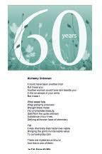 60th wedding anniversary poems d n sutton poet visionary