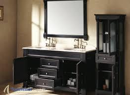 Black Bathroom Vanities With Tops Black Bathroom Vanity White Marble Top Black Bathroom Cabinets