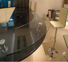 Glass Breakfast Bar Table Photo Page Hgtv With Glass Breakfast Bar Supports And