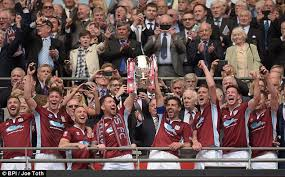 Fa Vase Prize Fund Wembley Glory For Former Sunderland Man Julio Arca Daily Mail Online