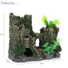 idee deco aquarium decor chateau pour aquarium get cheap spongebob aquarium