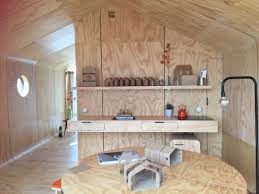 wikkelhouse interior the worlds first glamping tiny house made of