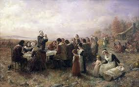 the pilgrims did not celebrate the thanksgiving in america