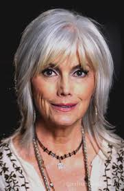 how to cut a shaggy hairstyle for older women medium shag hairstyles for older women with bangs medium shag