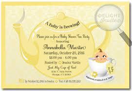 unisex baby shower afternoon tea baby shower invitations we like design