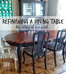Refinishing A Dining Table DIY Beautify - Refinish dining room table