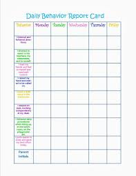 behaviour report template 24 images of daily behavior report template editable printable