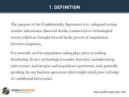 confidentiality agreement contract template and