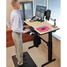 Ergotron Sit Stand Desk 24271928 Ergotron Workfit D Sit Stand Desk Birch Surface