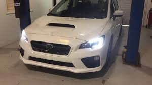 black subaru 2017 2017 subaru wrx diode dynamics c lights black out youtube