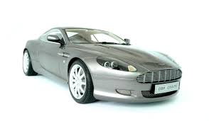 silver aston martin vanquish aston martin db9 2003 scale model cars