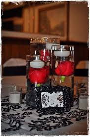 Black And White Centerpieces For Weddings by Best 25 Red And White Wedding Decorations Ideas On Pinterest