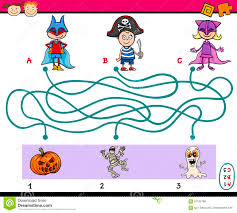 halloween dot to dot and coloring page stock image image 34697501