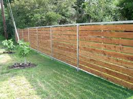 Backyard Fence Backyard Fence Cost Home Outdoor Decoration