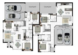 Duplex Plan Open Floor Plan House Designs Idolza