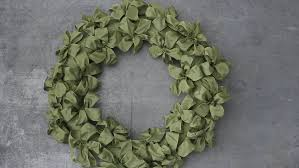 ribbon wreath ribbon wreath how to martha stewart