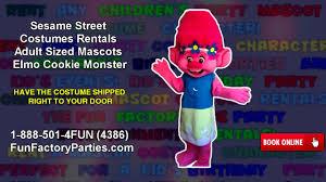 sesame street halloween costumes adults sesame street costumes rentals sized mascots elmo cookie