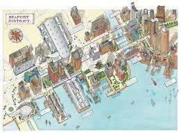 boston tourist map maps bostons tourist maps boston massachusetts