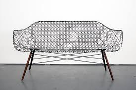 strong weaves carbon fiber eames sofa
