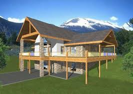 Ranch With Walkout Basement House Plans - house plans ranch style with walkout basement inspirational