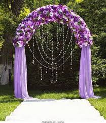 arch decoration 20 beautiful wedding arch decoration ideas royal purple wedding