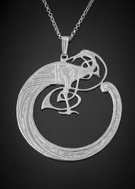 silver bird pendant necklace images Celtic bird pendant silver large lightweight scottish silver jpg