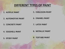 Exterior Metallic Paint - paintings of exterior and interior surfaces