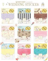 Wedding Planner Journal Diy Colorful Wedding 3d Kawaii Stickers Diary Planner Journal Note