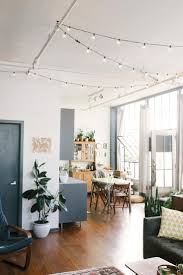 indoor string lights beautiful bohemian loft apartment top best lighting ideas on