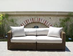 furniture mesmerizing wicker loveseat for outdoor or indoor