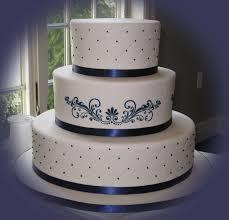 beautiful bridal navy blue wedding cakes