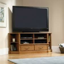 Corner Tv Cabinet For Flat Screens Oak Corner Tv Stands For Flat Screens Foter