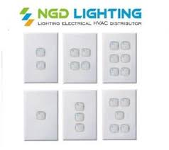 2 dimmer switches one light dexton push button light switch dimmer 2 in 1 1 6 gang white
