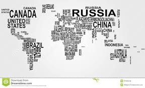 world map political with country names free world map with country name stock vector image 21069248