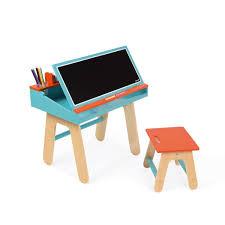 bureau tableau 2 en 1 bureau tableau en bois 2 en 1 splash jeux et jouets janod