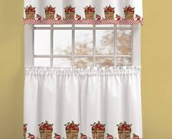 curtains kitchen curtains with valance frightening curtains with