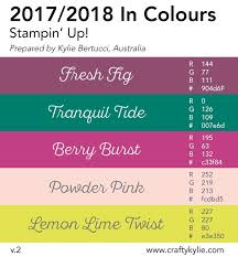 Colorcombinations 1738 Best Stampin U0027 Up Color Combos Images On Pinterest Color