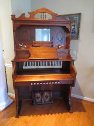 c 1900 estey organ walnut desk pump organ walnut wood and
