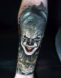 horror tattoos what does fear look like