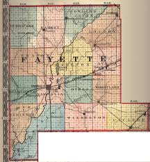 Map Of Central Illinois by Fayette County Illinois Maps And Gazetteers