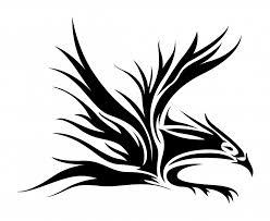 eagle tattoo clipart tribal eagle tattoo designs