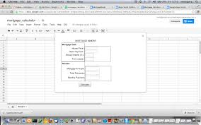 Mortgage Calculation Spreadsheet Google Spreadsheet Programming With Google Apps Script Gas