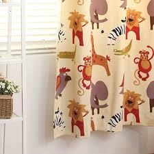 Cotton Canvas Curtains Ikea Animal Korean Cotton Canvas Children Room Curtain
