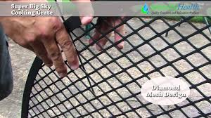 Firepit Grille by Sunnydaze X Marks Fire Pit Cooking Grate Demo Youtube