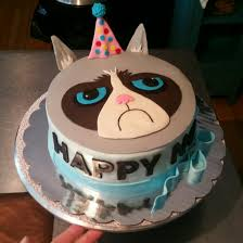 Kitty Litter Halloween Cake by Grumpy Cat Cake Wicked Fancy Cakes Pinterest Grumpy Cat