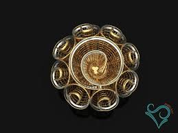 golden flower rings images Golden flower ring 3d print model 3d model in rings 3dexport jpg